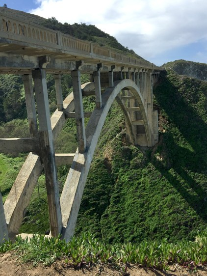 Rocky Creek Bridge on California's Pacific Coast Highway