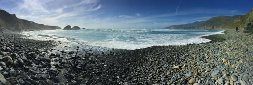 Sand Dollar Beach Very Rocky At High Tide