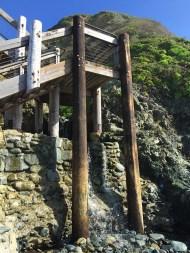 Staircase to Sand Dollar Beach