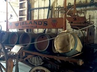 Historic Beer Cart