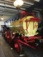Historic Stables and Wagons At San Juan Bautista State Park
