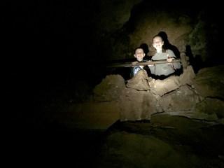 Improved Railings In Bear Gulch Cave