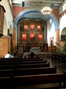 Mission San Juan Bautista Main Altar And Reredos