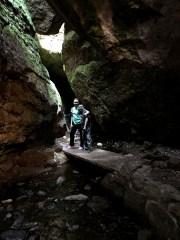Path Entering Bear Gulch Cave