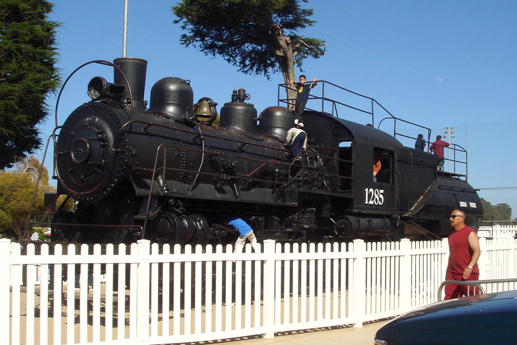 Dennis The Menace Playground Steam Train