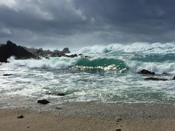 Stormy Monterey Coastline