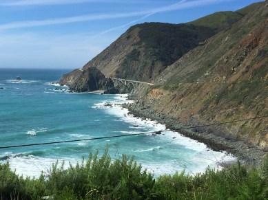 Big Creek Bridge on the Pacific Coast Highway
