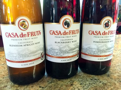 Casa de Fruta Fruit Wine Tasting