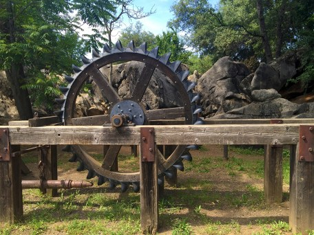 Columbia State Park Gold Mining Equipment