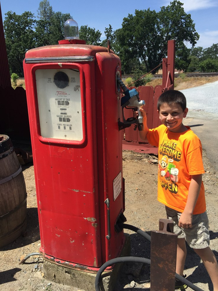 Family Day Trip to Railtown State Historic Park California