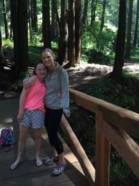 Hiking in Limekiln State Park, Crossing Scenic Bridges over Limekiln Creek