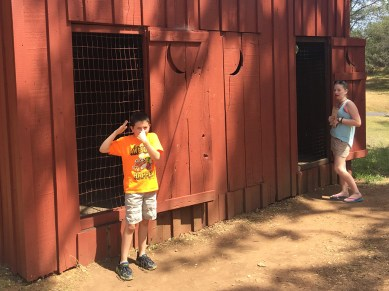 Historic School House Outhouses