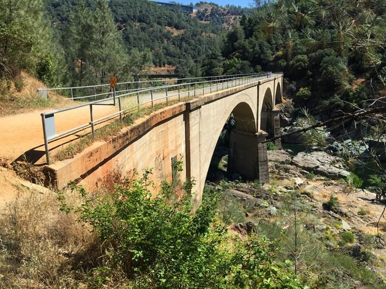 Mountain Quarries Bridge Triple Arch Concrete Railroad Bridge
