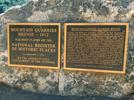 Mountain Quarries Bridge A National Historic Place