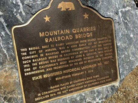 No Hands Bridge California State Historic Landmark