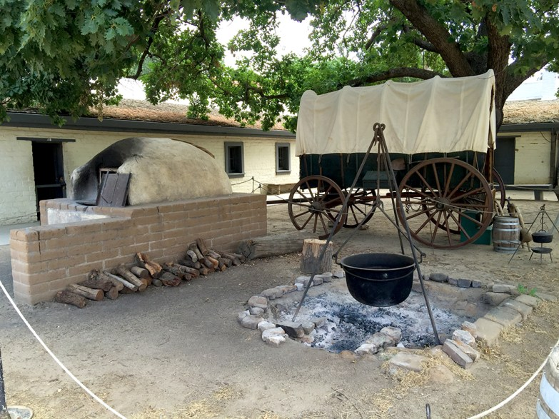 Sutter's Fort State Historic Park, California