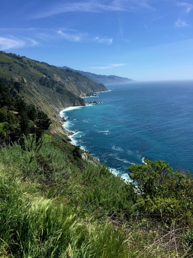 Views Driving The Pacific Coast Highway Through Big Sur