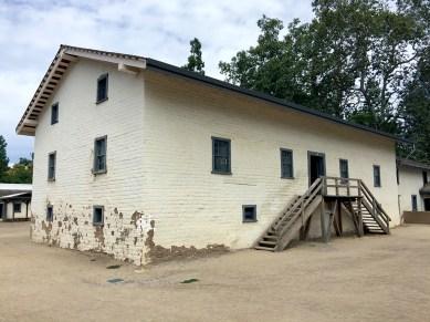 Viting Sutter's Fort (New Helvetia) in Sacramento