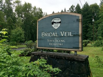 Bridal Veil Falls State Scenic Viewpoint
