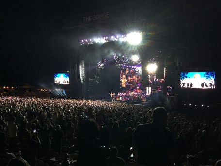 Gorge Amphitheater, Dead and Company Perform