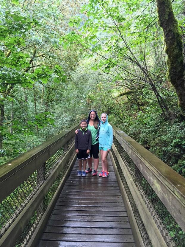 Oregon's Bridal Veil Creek Bridge