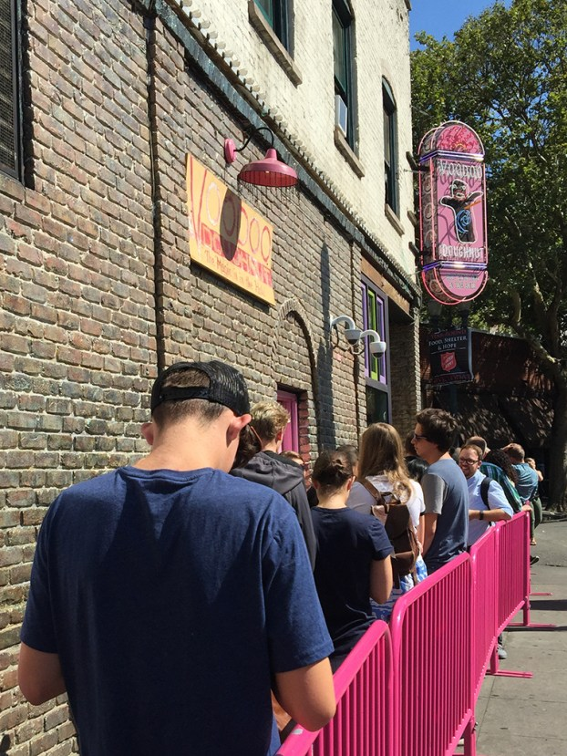 Portland Voodoo Doughnut Line