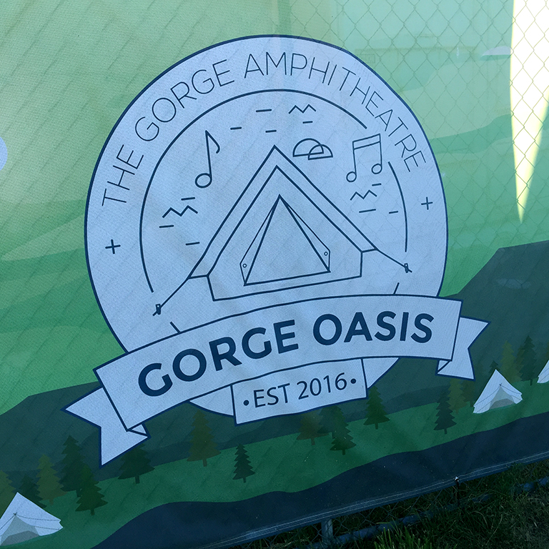 The Brand New Gorge Oasis Campground in George, Washington