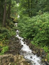 Wahkeena Creek in Wahkeena Canyon