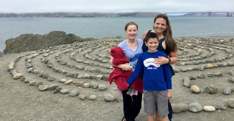 Lands End Labyrinth at Eagles Point