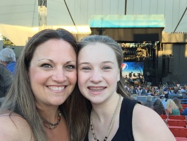 Mom and Daughter Seeing Dead & Company at The Shoreline Amphitheater