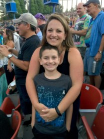 Mom and Son Seeing Dead and Company in Concert