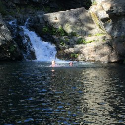 Emigrant Gap Waterfall Swimming Hole