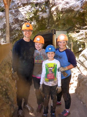Family Cavern and Cave Tours at California Caverns