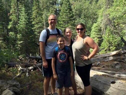 Family Hiking Trip at Calaveras Big Trees