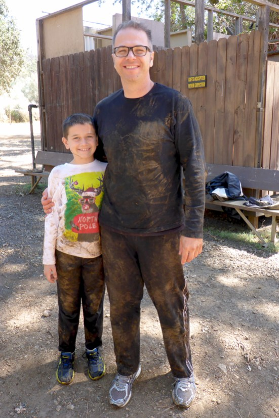Post Cave Tour Mud Cleanup