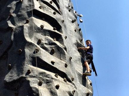 Rock Climbing at Moaning Cavern Adventure Park