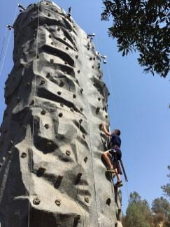 Rock Climbing Wall in Vallecito, California