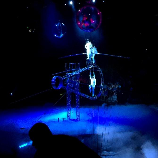 Simet Wheel High Wire Acrobats