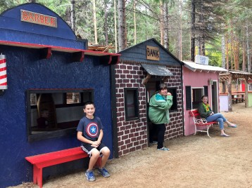 Kids Playground and Pretend Town at Apple Hill