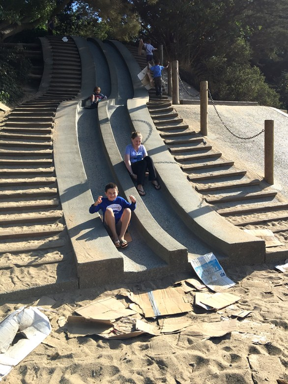 Koret Childrens Quarter Concrete Slides