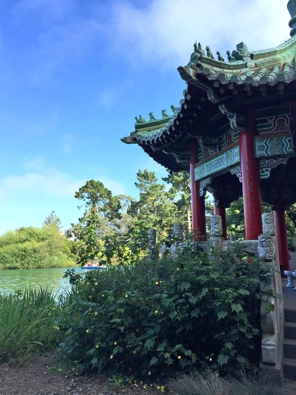 Pagoda at Stow Lake