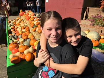 Doughnuts and Pumpkins at Apple Hill