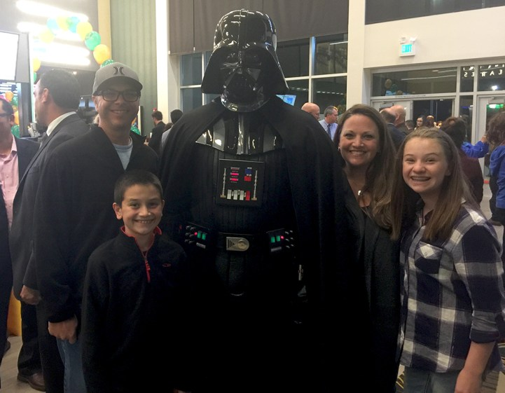 Darth Vader and The Bourn Family