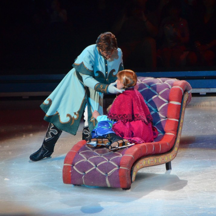 Hans and Anna In Frozen by Disney On Ice