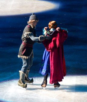 Kristoff and Anna In Frozen by Disney On Ice