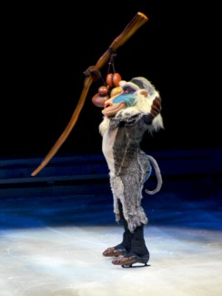 Rafiki from The Lion King in Disney On Ice