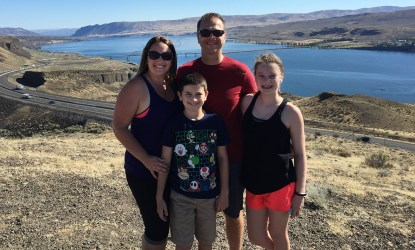 Bourn Family Road Trip Stop At Wild Horses Monument