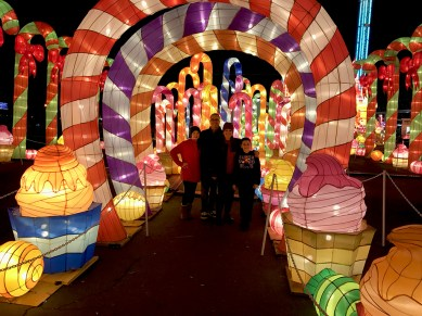 Candyland at Sacramento's Global Winter Wonderland