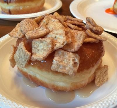 Cinnamon Toast Crunch Maple Donut