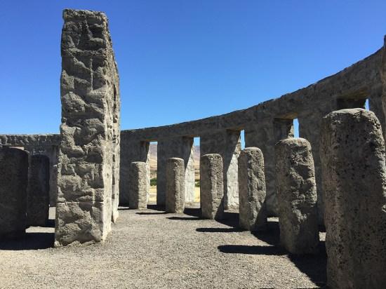 Maryhill Stonehenge Honors The Dead from Klickitat County in World War I